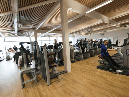 Nottingham S New Gbp9m Victoria Leisure Centre Opens In Sneinton Sport Venue Construction